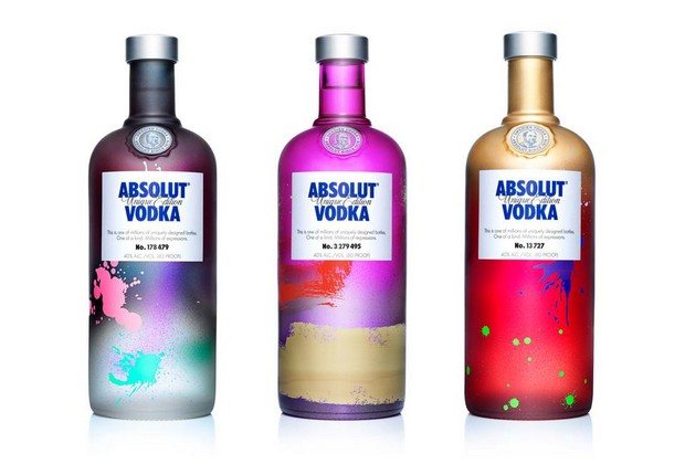 Exclusive - Absolut Vodka limited edition Exclusive - Absolut Vodka Limited Edition Bottles Exclusive Absolut Vodka Limited Edition Bottles 2
