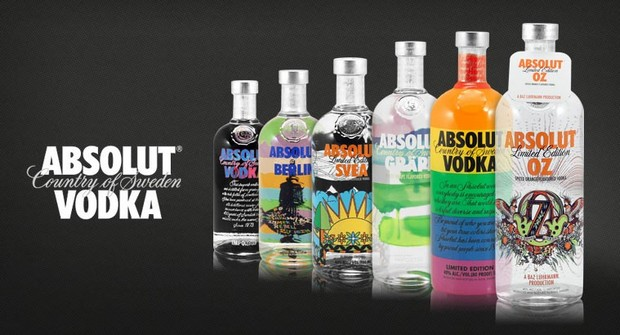 Verbazingwekkend Exclusive - Absolut Vodka Limited Edition Bottles PV-62