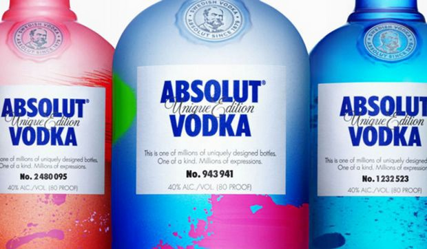 Exclusive - Absolut Vodka Limited Edition Bottles (4) limited edition Exclusive - Absolut Vodka Limited Edition Bottles Exclusive Absolut Vodka Limited Edition Bottles 4