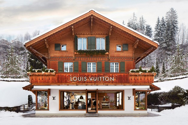 Luxury Store in Gstaad Louis Vuitton Fashion – Louis Vuitton Opens Luxury Store in Gstaad Louis Vuitton Opens New Winter Resort Store in Switzerland