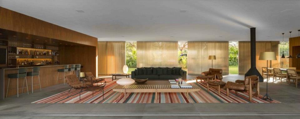 Lee house by marcio kogan boca do lobo 39 s inspirational world for Marcio kogan plans