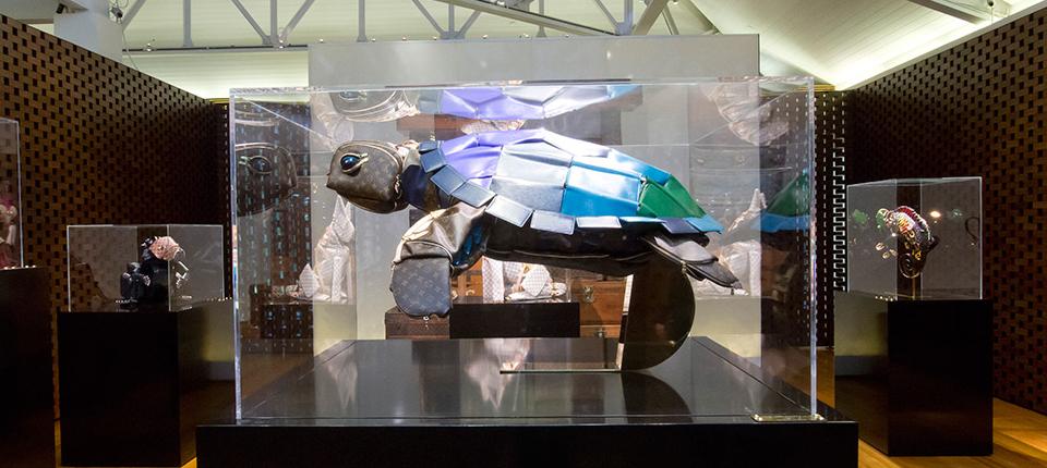 Louis Vuitton Traveling Curiosities Exhibition Boca Do