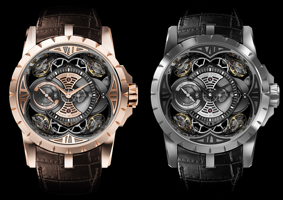 ROGERDUBUIS Excalibur Collection - Quatuor - EX48 101  TOP 10 LUXURY CHRISTMAS GIFTS FOR HIM AND FOR HER – 2013 Roger Dubuis Excalibur 2