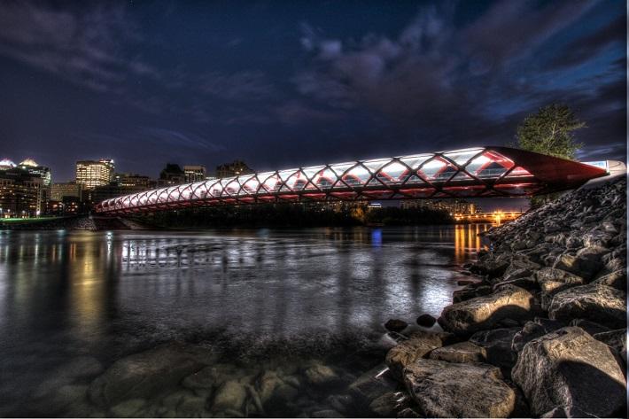 """most beautiful bridges in the world"" bridges 10 of the World's Most Beautiful and Unique Bridges Peace Bridge Calgary"