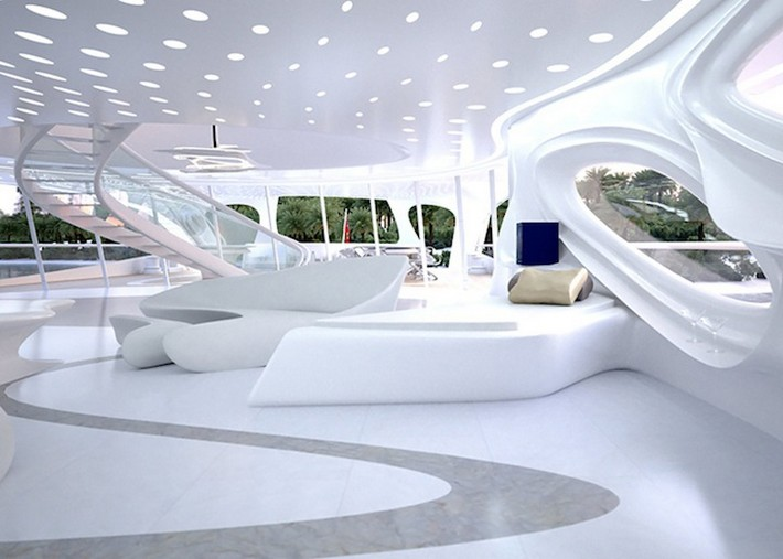 Jazz – Zaha Hadid\'s Modern Superyacht | Boca do Lobo\'s inspirational ...
