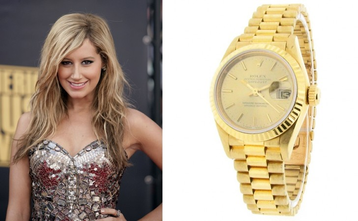 ashley tisdale watches  Top 8 Celebrities With the Most Expensive Watches ashley tisdale watches