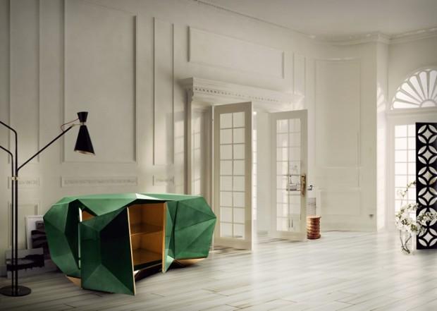 diamond-sideboard-boca-do-lobo Pantone How to Add the Pantone's New Fall Colors to Your Home diamond sideboard boca do lobo 620x441
