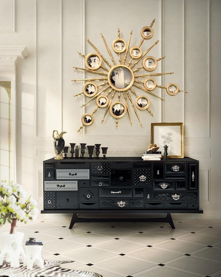 mondrian-by-boca-do-lobo  Interior Design Color Schemes: In Love With black  mondrian by boca do lobo