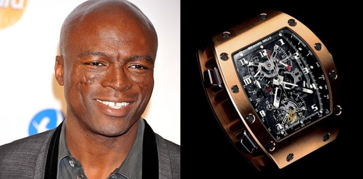 seal watches  Top 8 Celebrities With the Most Expensive Watches seal watches