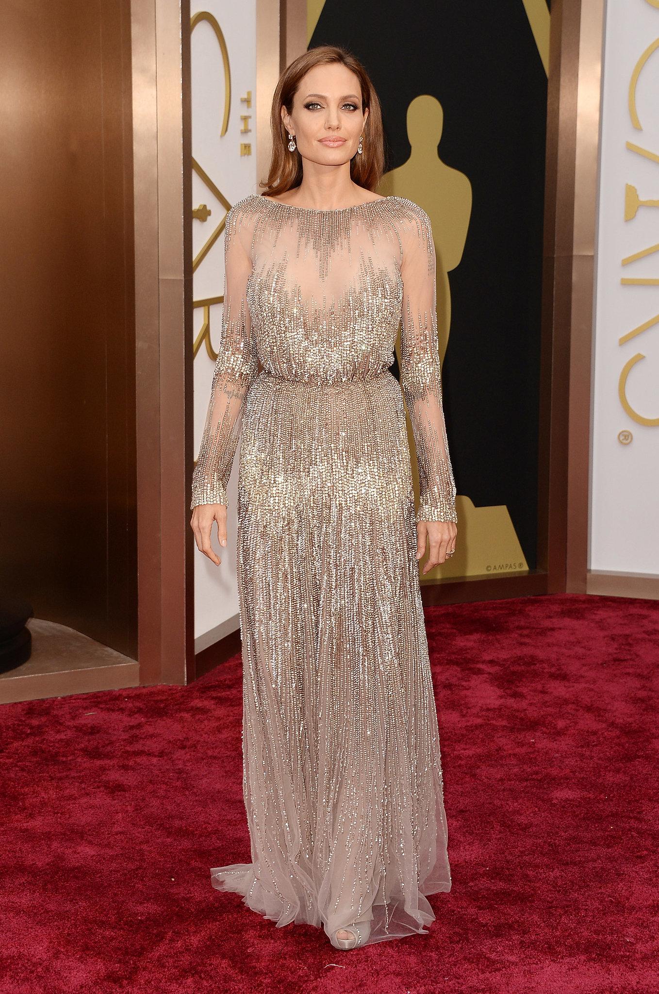 angelina-jolie-best-dressed-oscars-2014 Best Dressed Celebrities 2014 Oscars: The Best Dressed Celebrities angelina jolie best dressed oscars 2014