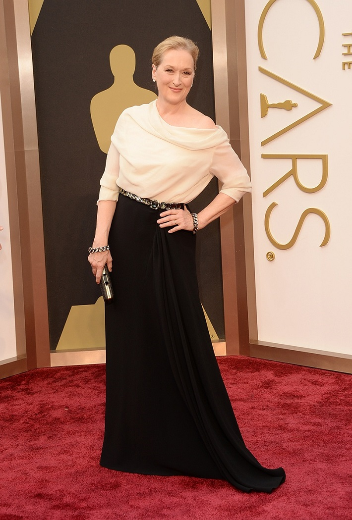 meryl-streep_best-dressed-oscars-2014 Best Dressed Celebrities 2014 Oscars: The Best Dressed Celebrities meryl streep best dressed oscars 2014