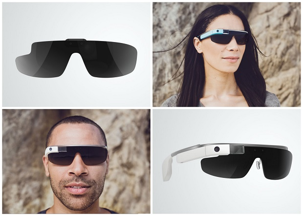 the styles of Google Glass  Ray-Ban And Oakley To Give Google Glass A Makeover Google Glass Shades Active
