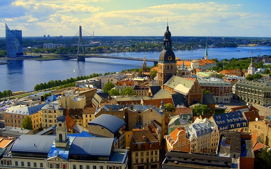 """""""10 beautiful places to visit before they get famous""""  10 beautiful places you must visit before they get famous Riga Latvia Tourism Hotels Travels"""