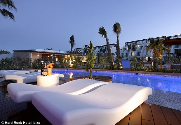 The outstanding Hard Rock Hotel in Ibiza  The outstanding Hard Rock Hotel in Ibiza article 2640721 1E3F91E000000578 360 634x439