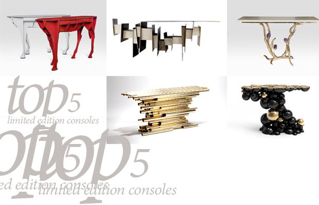 top 5 limited edition consoles furniture