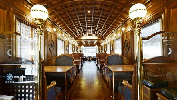 Luxury On The Rails With Japan's Seven Stars in Kyushu  Luxury On The Rails With Japan's Seven Stars in Kyushu Seven Stars in Kyushu Beautiful 1
