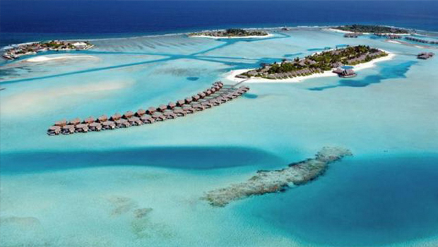 Maldives, Naladhu island  PLACES YOU CAN ONLY GET TO BY PRIVATE JET Maldives Naladhu island
