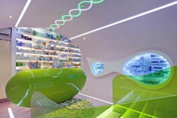 Pharmacy Green Design interior designer Top Interior Designers That Changed the World – Part 1 Pharmacy Green Design