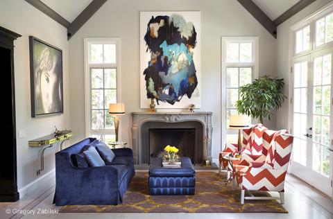 interior1  High Point Market's Style Spotters | Michelle Workman interior1