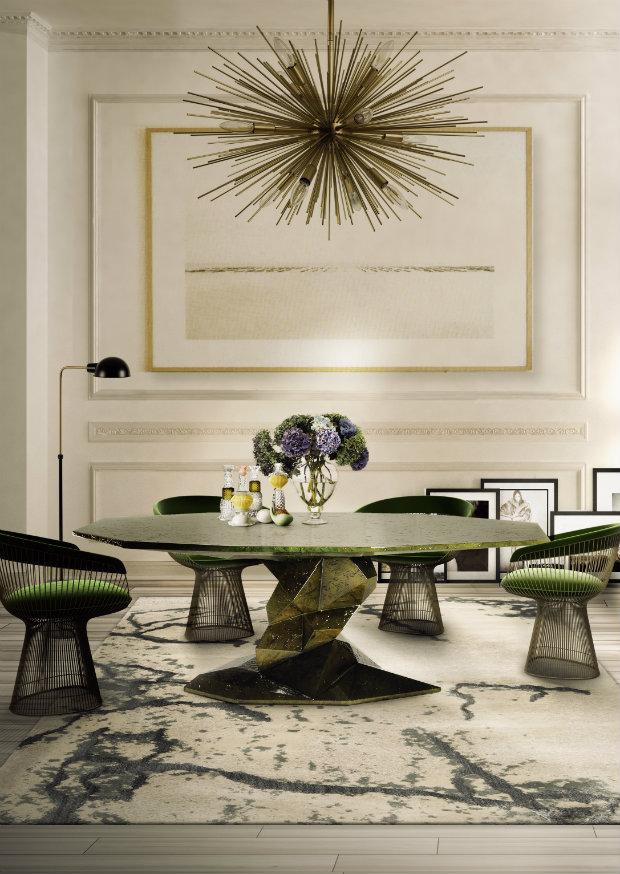 bonsai  Contemporary dining room tables bonsai