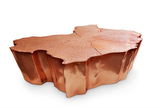Eden Center Table Copper Bl The Best Copper Coffee Table Sets For