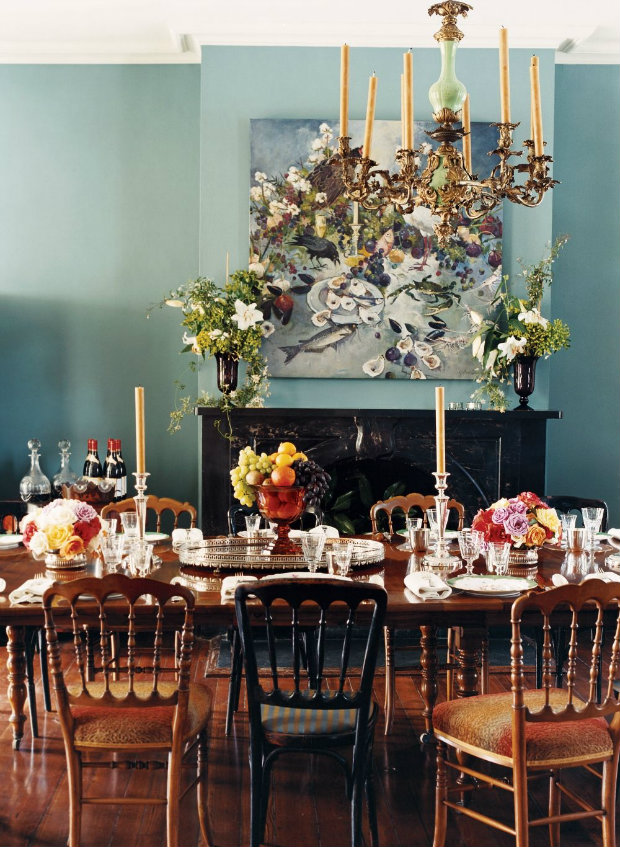 How To Set Up A Dining Table Traditional