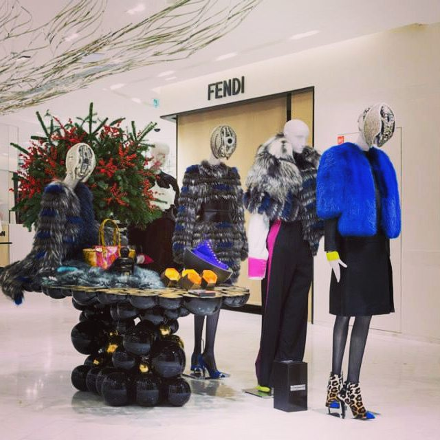 Our Newton Table is dressed for parisfashionweek Photo courtesy byhellip