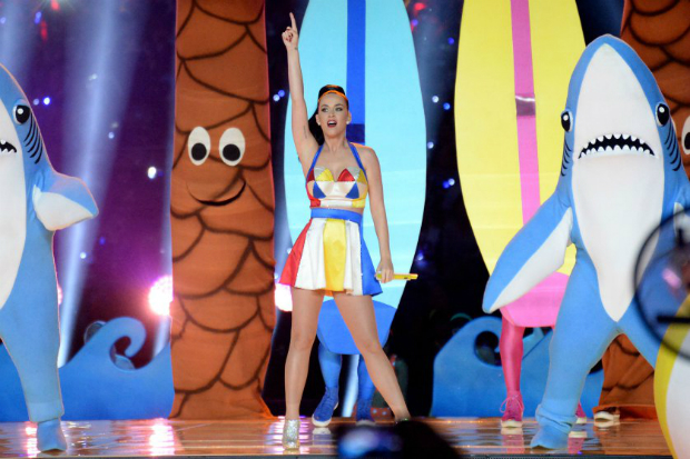 The Best Moments From the Super Bowl 2015 Halftime Show  The Best Moments from the Super Bowl 2015 halftime show katy perry superbowl halftime 08