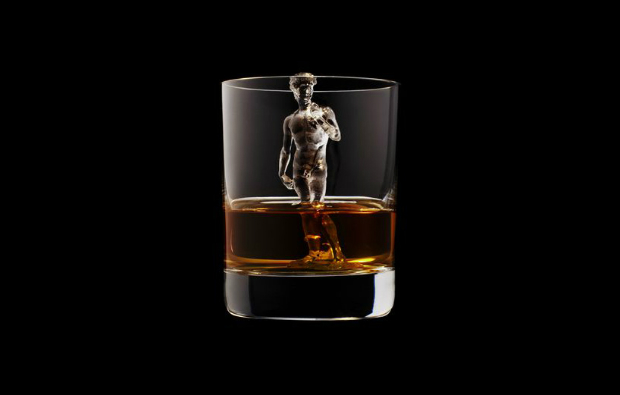 Suntory presents the most amazing whiskey glasses  Suntory presents the most amazing whiskey glasses CNC milled ice cubes japanese brewing suntory designboom 13