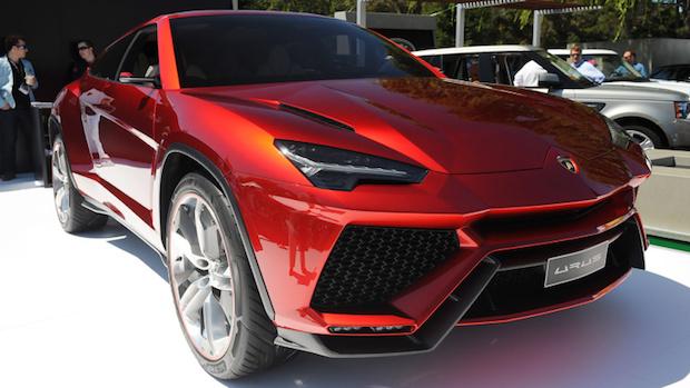 The New Lamborghini SUV The New Lamborghini SUV 03 Lamborghini Urus Concept  Monterey