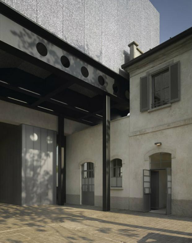 OMA's Fondazione Prada art centre opens in Milan  OMA's Fondazione Prada art centre opens in Milan Fondazione Prada OMA Milan dezeen 10
