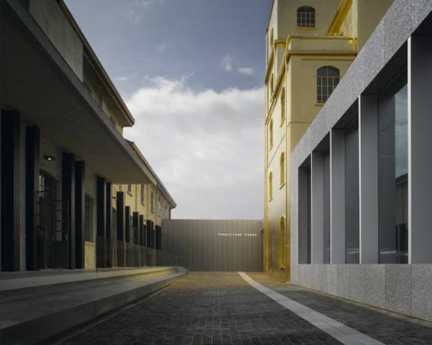 OMA's Fondazione Prada art centre opens in Milan  OMA's Fondazione Prada art centre opens in Milan Fondazione Prada OMA Milan dezeen 11