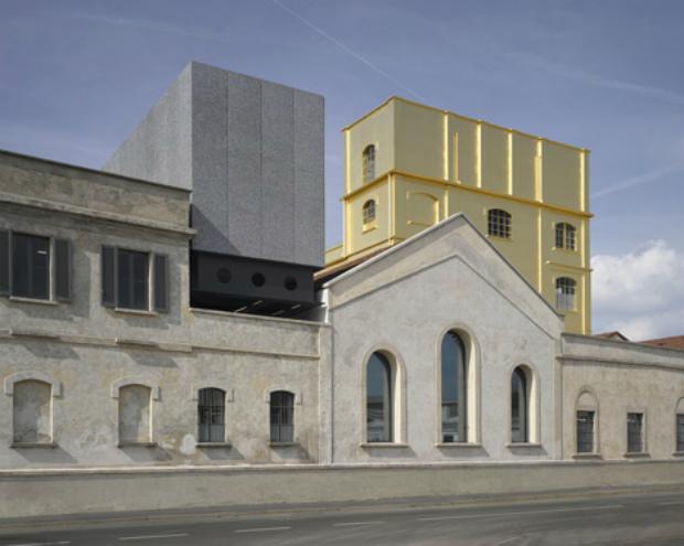 OMA's Fondazione Prada art centre opens in Milan  OMA's Fondazione Prada art centre opens in Milan Fondazione Prada OMA Milan dezeen 12