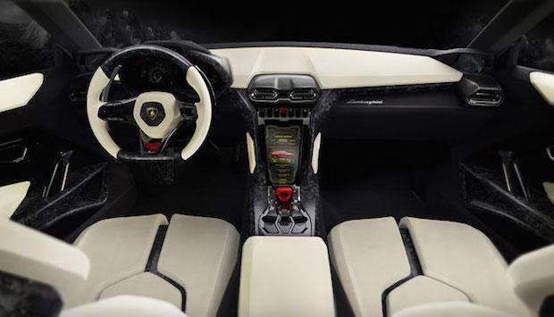 The New Lamborghini SUV  The New Lamborghini SUV lamborghini urus interior