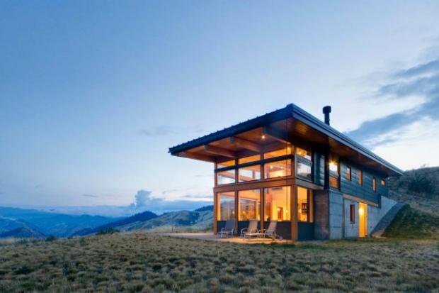 Balance Associates Architects presents Nahahum Cabin