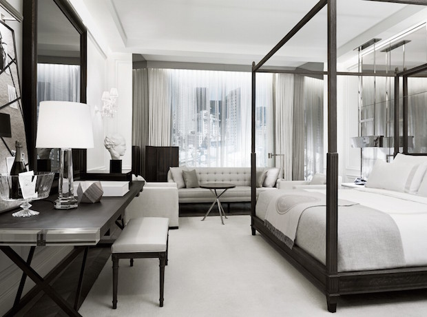 The New Baccarat Hotel is Luxury at its Best  The New Baccarat Hotel is Luxury at its Best 05 Baccarat Hotel New York Model Room Forbes 01 1940x1439