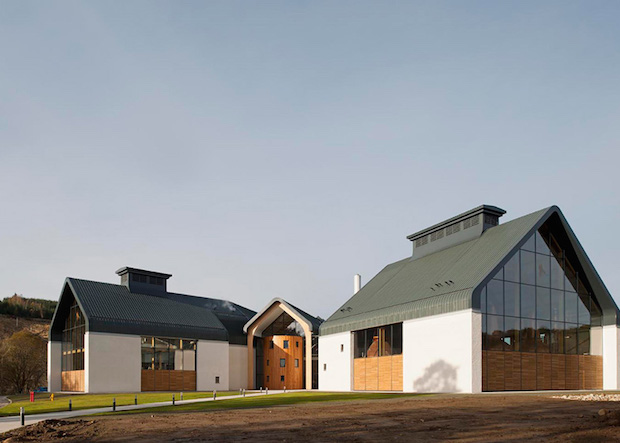 RIBA Awards the Best in British Architecture 2015  RIBA Awards the Best in British Architecture 2015 Dalmunach Distillery approach Archial Norr Inverness dezeen 784