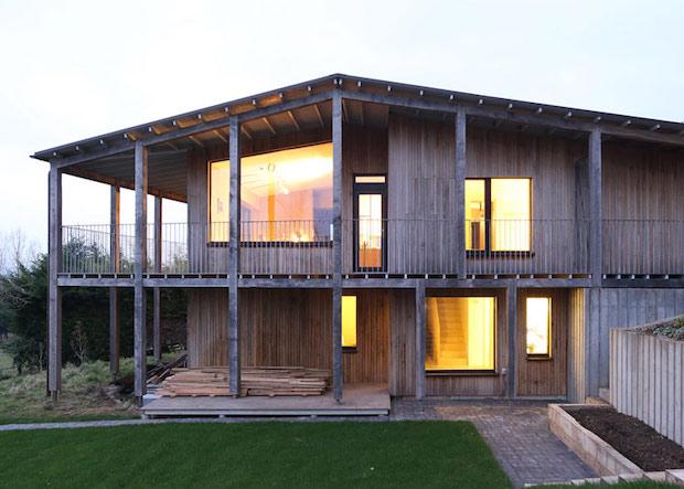 RIBA Awards the Best in British Architecture 2015  RIBA Awards the Best in British Architecture 2015 Dundon Passivhaus by Prewett Bizley Architects Prewett Bizley dezeen 784