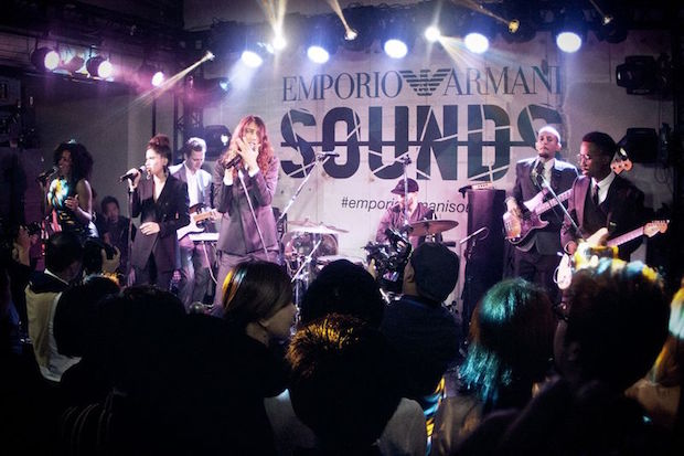 Emporio Armani Launches Music App  Emporio Armani Launches Music App Emporio Armani Sounds 11