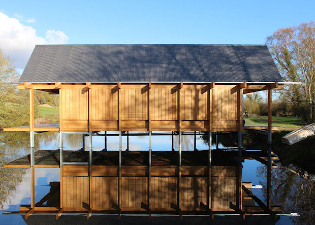 RIBA Awards the Best in British Architecture 2015  RIBA Awards the Best in British Architecture 2015 Fishing Hut Hampshire by Niall Mclaughlin Architects Niall Mclaughlin Architects dezeen 784
