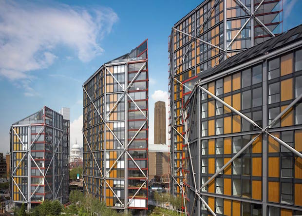 RIBA Awards the Best in British Architecture 2015  RIBA Awards the Best in British Architecture 2015 NEO Bankside housing by Rogers Stirk Harbour and Partners Edmund Sumner dezeen 784