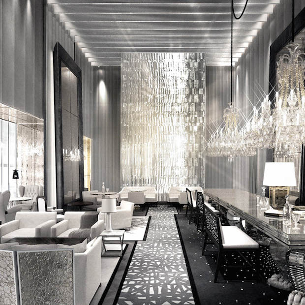 The New Baccarat Hotel is Luxury at its Best  The New Baccarat Hotel is Luxury at its Best baccarat hotel elle