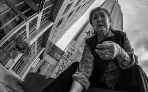 Fisheye Street Photography by Willem Jonkers