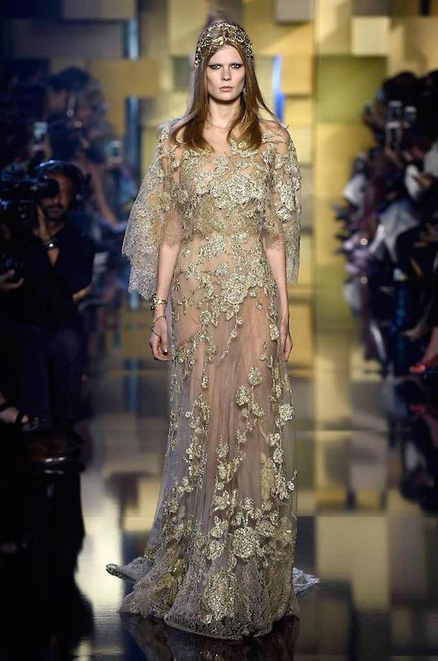 Elie Saab Paris Welcomes Golden Couture Boca Do Lobo S
