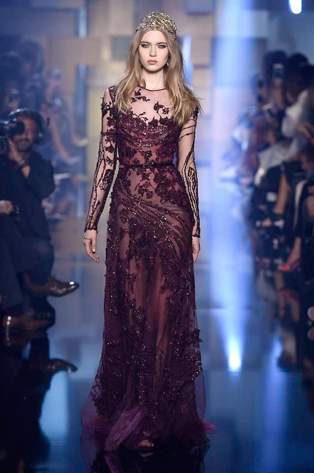 Elie Saab – Paris Welcomes Golden Couture | Boca do Lobo's ...