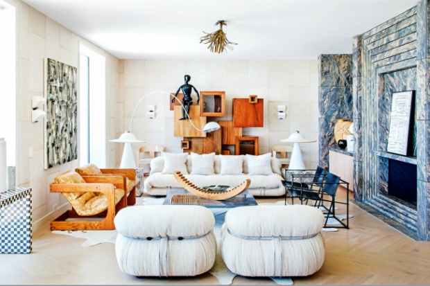 Kelly Wearstler's Malibu Beach House Photographed by Vogue