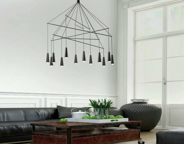 20 modern suspension lamps for contemporary interiors