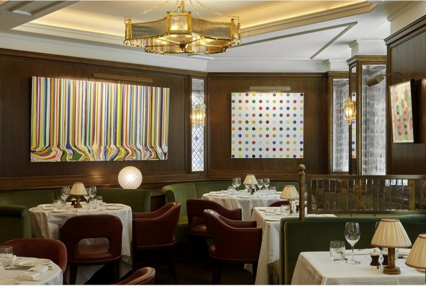 "The Ivy_London (1) martin brudnizki ""And Objects"" Showcases Martin Brudnizki's Bespoke Designs The Ivy London 1"