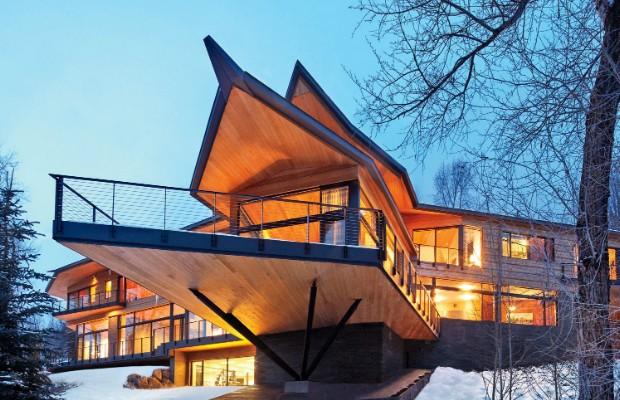 Peter Marino's Rocky Mountain Ski Retreat