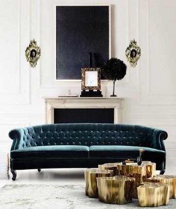 20 Velvet Sofas for Modern Living Rooms (12) velvet sofas 20 Velvet Sofas for Modern Living Rooms 20 Velvet Sofas for Modern Living Rooms 12